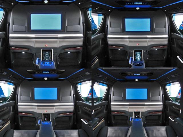 エグゼクティブラウンジS ロイヤルラウンジ 4WD フルパーテーション冷蔵庫ロイヤルラウンジ専用VIPプレミアムナッパ本革シートリヤエンターテイメント24型ディスプレイ集中コントロールタッチパネルリラクゼーションシステムモデリスタエアロリモスタ(44枚目)