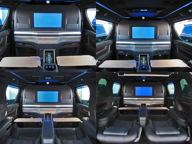 エグゼクティブラウンジS ロイヤルラウンジ 4WD フルパーテーション冷蔵庫ロイヤルラウンジ専用VIPプレミアムナッパ本革シートリヤエンターテイメント24型ディスプレイ集中コントロールタッチパネルリラクゼーションシステムモデリスタエアロリモスタ(48枚目)