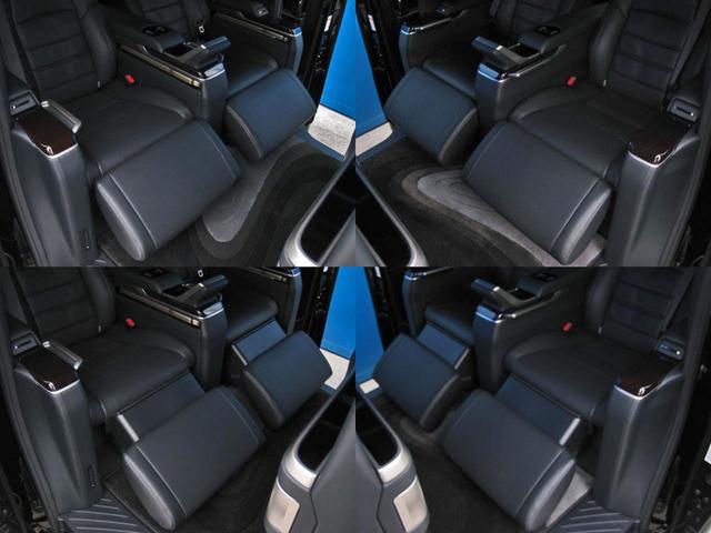 エグゼクティブラウンジS ロイヤルラウンジ 4WD フルパーテーション冷蔵庫ロイヤルラウンジ専用VIPプレミアムナッパ本革シートリヤエンターテイメント24型ディスプレイ集中コントロールタッチパネルリラクゼーションシステムモデリスタエアロリモスタ(65枚目)
