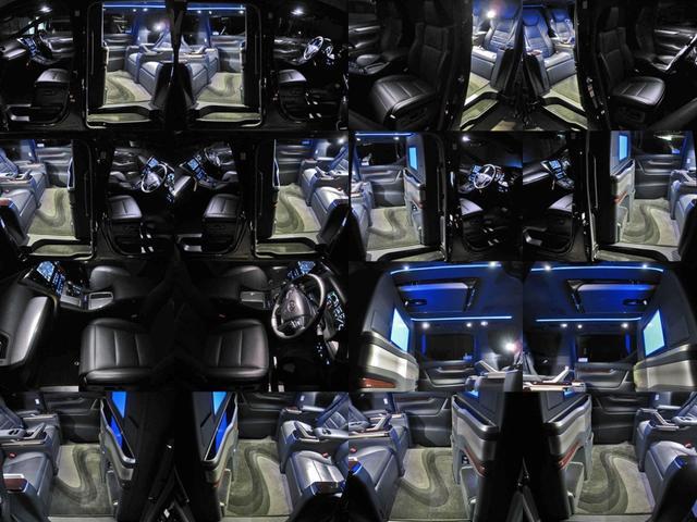 エグゼクティブラウンジS ロイヤルラウンジ 4WD フルパーテーション冷蔵庫ロイヤルラウンジ専用VIPプレミアムナッパ本革シートリヤエンターテイメント24型ディスプレイ集中コントロールタッチパネルリラクゼーションシステムモデリスタエアロリモスタ(75枚目)