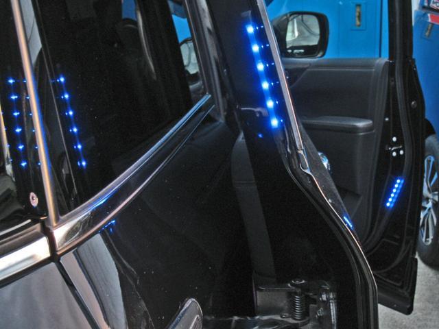 ライダー ブラックライン メーカーオプション全装着5.1chBOSEサラウンド13SP後席プライベートシアタWサンルーフ踏間違衝突防止アシストレーダークルーズ黒本革シートアラウンドビュモニタクリアランスソナパワーバック両電ドア(23枚目)