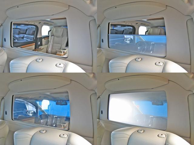ロイヤルラウンジSP 4WD フルパーテーション液晶調光リヤシェードエクストラキャビネット冷蔵庫リヤエンターテイメント24型TVロイヤルラウンジ専用VIPリラクゼーションシート集中コントロールタッチパネルモデリスタエアロ(20枚目)