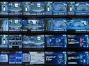 ★マルチファンクションコンソール(保温・保冷庫付<温冷切替スイッチ、500mlペットボトル2本収納可能>、小物入れ<DVD3枚収納可能>、LEDブルーイルミネーション付、マーブル調/黒木目調パネル)