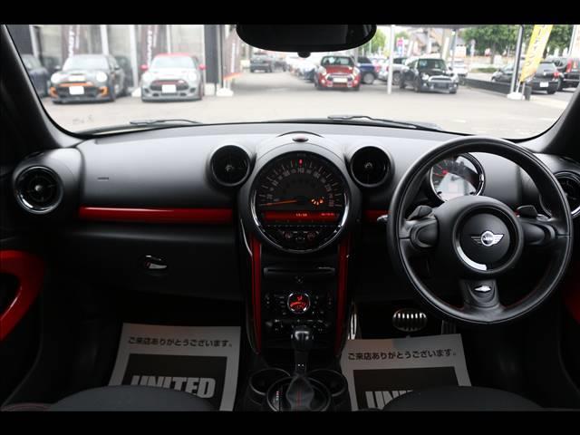 3ドアJOHN COOPER WORKS 4WD H&Rダウンサス SPORTモード ETC 純正18インチ オートエアコン HID 禁煙車 パドルシフト MTモード 純正18インチアルミホイール(3枚目)