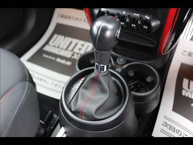 3ドアJOHN COOPER WORKS 4WD H&Rダウンサス SPORTモード ETC 純正18インチ オートエアコン HID 禁煙車 パドルシフト MTモード 純正18インチアルミホイール(7枚目)