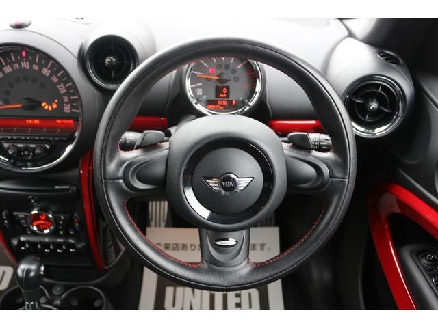 3ドアJOHN COOPER WORKS 4WD H&Rダウンサス SPORTモード ETC 純正18インチ オートエアコン HID 禁煙車 パドルシフト MTモード 純正18インチアルミホイール(22枚目)