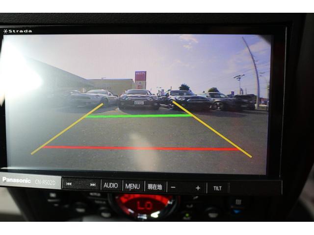 バックカメラ装備。後方確認に役立ち、楽々駐車やバックをしていただけます。