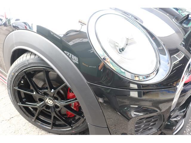 ジョンクーパーワークス コンバーチブル 新品SPARCO17インチAW 新品BLITZ車高調 新品GIGAMOTフロントリップ&サイドディフューザー 純正ナビ クルコン スマートキー ダイナミカシート ドライビングモード PDC(59枚目)