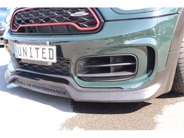 ジョンクーパーワークス クロスオーバー DuelL AG委託車両 DuelLAGボディキットコンプリートカー 300馬力DMEエンジンチューニング 新車外しダイナミカシート  純正ナビ コーディング済み GIGAMOTブレーキパット(5枚目)