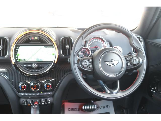 ジョンクーパーワークス クロスオーバー DuelL AG委託車両 DuelLAGボディキットコンプリートカー 300馬力DMEエンジンチューニング 新車外しダイナミカシート  純正ナビ コーディング済み GIGAMOTブレーキパット(24枚目)