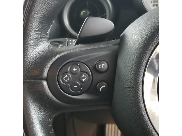 クーパーS GIGAMOTフロントリップ サンルーフ クルーズコントロール ハーフレザー ステアリングスイッチ ETC HIDヘッド フォグライト センターメーター オートエアコン プッシュスタート(32枚目)