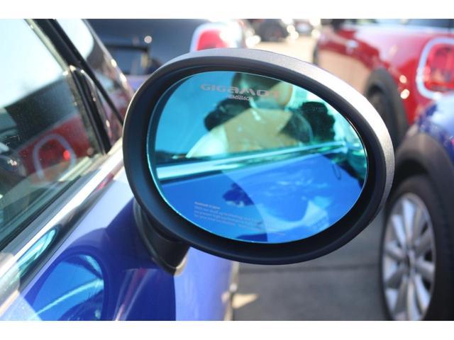 コンバーチブル COOPER S 後期 1オーナー 茶革シート GIGAMOTブルーミラー シートヒーター ETC YOUR'Sルーフ 純正HDDナビ DCT PDC 電動オープン シートヒーター(8枚目)