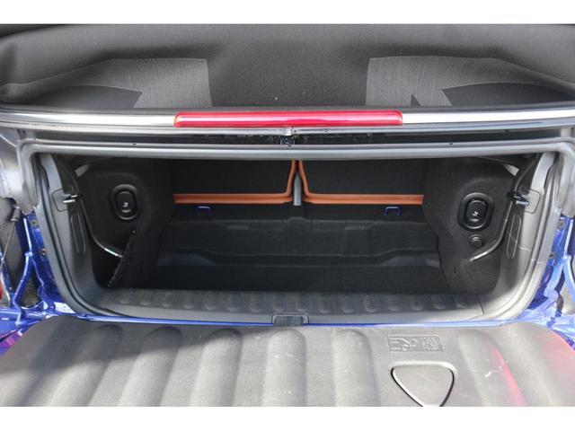 コンバーチブル COOPER S 後期 1オーナー 茶革シート GIGAMOTブルーミラー シートヒーター ETC YOUR'Sルーフ 純正HDDナビ DCT PDC 電動オープン シートヒーター(20枚目)
