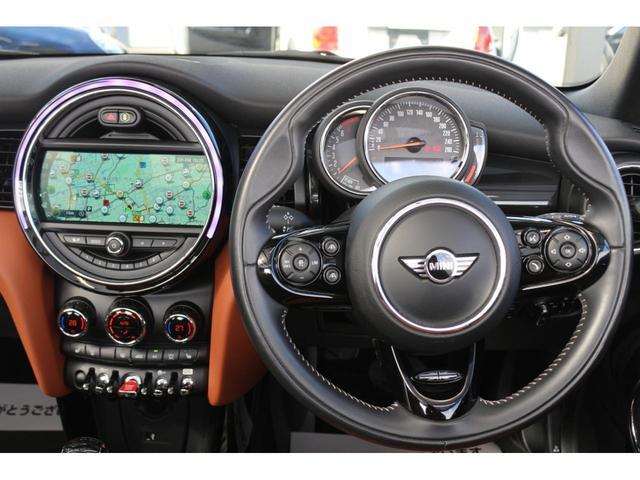 コンバーチブル COOPER S 後期 1オーナー 茶革シート GIGAMOTブルーミラー シートヒーター ETC YOUR'Sルーフ 純正HDDナビ DCT PDC 電動オープン シートヒーター(25枚目)