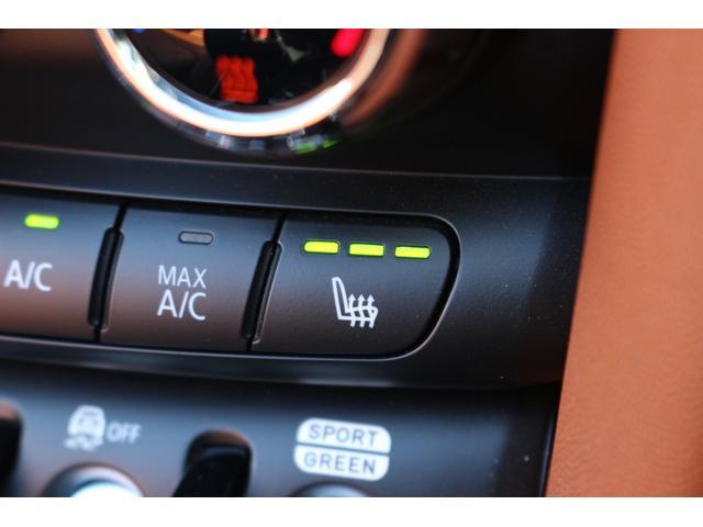 コンバーチブル COOPER S 後期 1オーナー 茶革シート GIGAMOTブルーミラー シートヒーター ETC YOUR'Sルーフ 純正HDDナビ DCT PDC 電動オープン シートヒーター(37枚目)