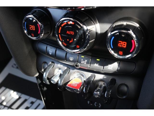 3ドア COOPER S GIGAMOT17インチアルミ&テールピース MSKフロントリップ 純正HDDナビ バックカメラ ETC LEDヘッドライト オートライト MTモード オートエアコン LEDフォグ ミラーETC(9枚目)