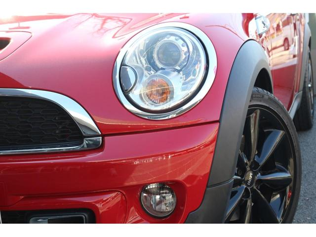 3ドアCOOPER S カロッツェリアナビナビ バックカメラ フルセグTV対応 HIDヘッドライト シートカバー サンルーフ パドルシフト ETC MTモード AUXポート オートエアコン(21枚目)