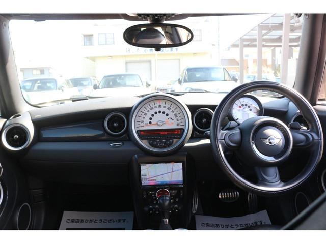 3ドアCOOPER S カロッツェリアナビナビ バックカメラ フルセグTV対応 HIDヘッドライト シートカバー サンルーフ パドルシフト ETC MTモード AUXポート オートエアコン(27枚目)