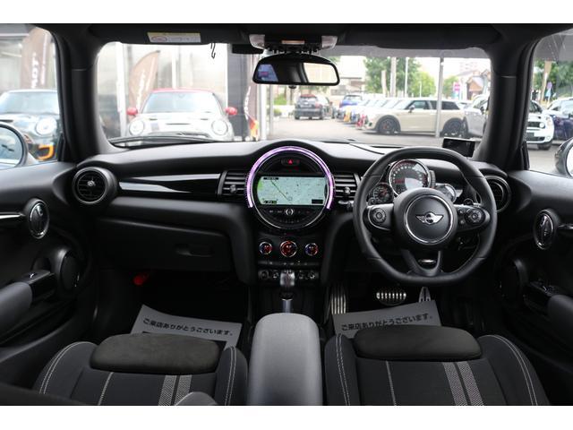ジョンクーパーワークス GIGAMOTフロントリップ H&Rダウンサス ダイナミカシート ハーマンカードンスピーカー フルセグTV シートヒーター Bカメラ MINIドライビングアシスト ドライビングモード(3枚目)