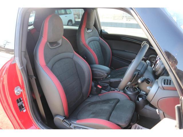 ジョンクーパーワークス GIGAMOTフロントリップ H&Rダウンサス ダイナミカシート ハーマンカードンスピーカー フルセグTV シートヒーター Bカメラ MINIドライビングアシスト ドライビングモード(17枚目)
