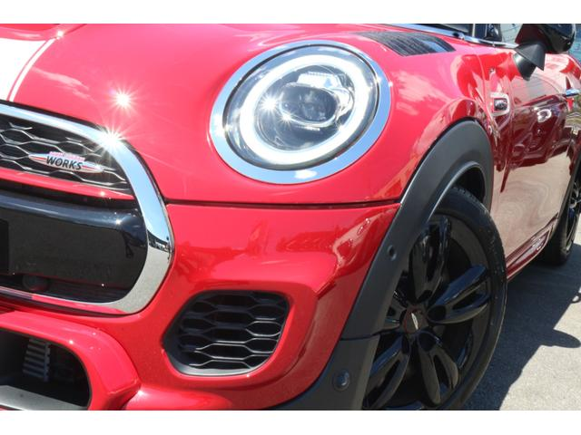 ジョンクーパーワークス GIGAMOTフロントリップ H&Rダウンサス ダイナミカシート ハーマンカードンスピーカー フルセグTV シートヒーター Bカメラ MINIドライビングアシスト ドライビングモード(20枚目)