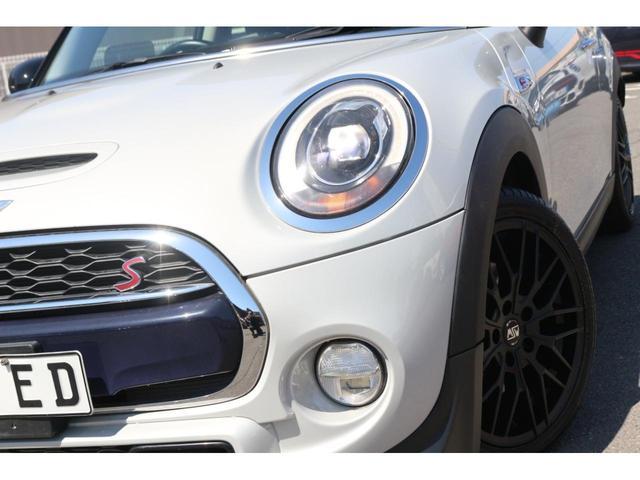クーパーS GIGAMOTフロントリップ&17インチアルミ&ブルーミラー Bカメラ サンルーフ コンフォートアクセス ヘッドアップディスプレイ インテリジェントセーフティ ドライビングモード シートヒーター(21枚目)