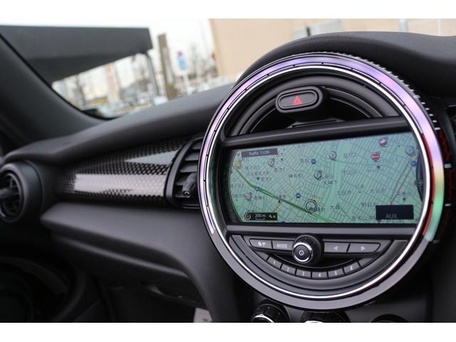 コンバーチブル ジョンクーパーワークス GIGAMOTフロントリップ アイバッハダウンサス Bカメラ コンフォートアクセス ダイナミカシート シートヒーター YOURSパッケージ ミラーETC シートヒーター HUD ドライビングモード(3枚目)