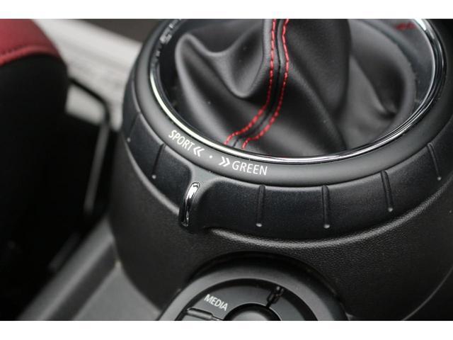コンバーチブル ジョンクーパーワークス GIGAMOTフロントリップ アイバッハダウンサス Bカメラ コンフォートアクセス ダイナミカシート シートヒーター YOURSパッケージ ミラーETC シートヒーター HUD ドライビングモード(33枚目)