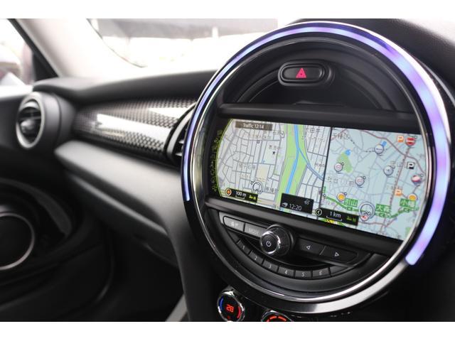 3ドア COOPER S GIGAMOTフロントリップ&テールピース H&Rダウンサス RAYS18インチアルミ 純正HDDナビ フルセグTV ミラーETC LEDヘッドライト オートライト アイドリングストップ MTモード(3枚目)