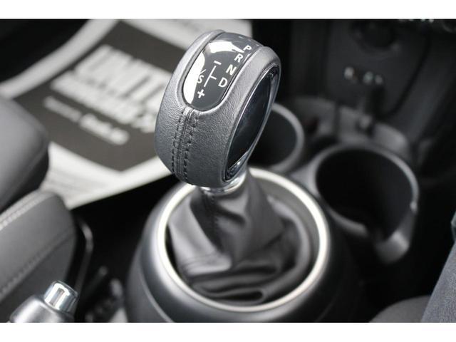 3ドア COOPER S GIGAMOTフロントリップ&テールピース H&Rダウンサス RAYS18インチアルミ 純正HDDナビ フルセグTV ミラーETC LEDヘッドライト オートライト アイドリングストップ MTモード(5枚目)
