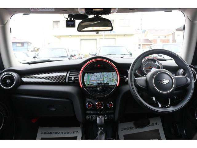 3ドア COOPER S GIGAMOTフロントリップ&テールピース H&Rダウンサス RAYS18インチアルミ 純正HDDナビ フルセグTV ミラーETC LEDヘッドライト オートライト アイドリングストップ MTモード(27枚目)