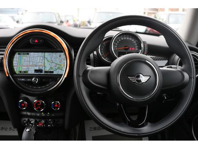 3ドア COOPER S GIGAMOTフロントリップ&テールピース H&Rダウンサス RAYS18インチアルミ 純正HDDナビ フルセグTV ミラーETC LEDヘッドライト オートライト アイドリングストップ MTモード(28枚目)