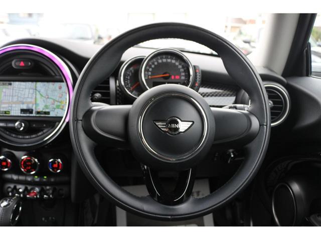 3ドア COOPER S GIGAMOTフロントリップ&テールピース H&Rダウンサス RAYS18インチアルミ 純正HDDナビ フルセグTV ミラーETC LEDヘッドライト オートライト アイドリングストップ MTモード(29枚目)