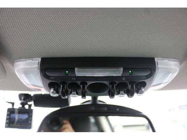 3ドア COOPER S GIGAMOTフロントリップ&テールピース H&Rダウンサス RAYS18インチアルミ 純正HDDナビ フルセグTV ミラーETC LEDヘッドライト オートライト アイドリングストップ MTモード(35枚目)