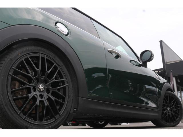 3ドア COOPER S MSKフロントリップ GIGAMOT17インチアルミ&ダウンサス 純正HDDナビ JCWステアリング ドライビングモード マルチファンクションステアリング LEDヘッドライト オートライト ETC(21枚目)