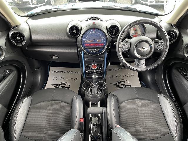 クーパーSD クロスオーバーマリン 日本150台限定特別仕様車MARIN リフトアップ MGライカン16インチアルミ クルーズコントロール 専用ハーフレザーシート パドルシフト ETC車載器 AUX接続 キーレス オートエアコン(3枚目)