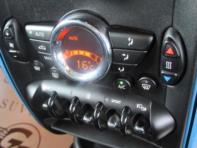 クーパーSD クロスオーバーマリン 日本150台限定特別仕様車MARIN リフトアップ MGライカン16インチアルミ クルーズコントロール 専用ハーフレザーシート パドルシフト ETC車載器 AUX接続 キーレス オートエアコン(6枚目)
