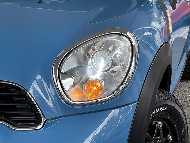 クーパーSD クロスオーバーマリン 日本150台限定特別仕様車MARIN リフトアップ MGライカン16インチアルミ クルーズコントロール 専用ハーフレザーシート パドルシフト ETC車載器 AUX接続 キーレス オートエアコン(20枚目)