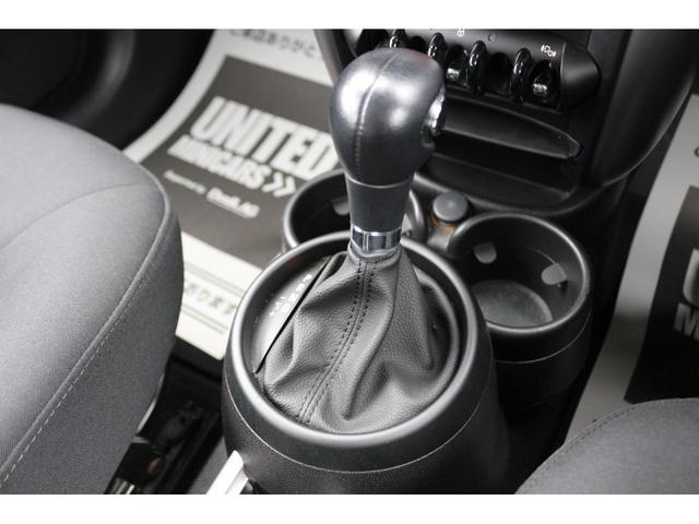 クーパーD クロスオーバー ブラックデザインパッケージ RMP18インチアルミ H&Rダウンサス HIDヘッドライト オートライト 純正17インチアルミホイール ETC車載器 AUXポート プッシュスタート MTモード(5枚目)