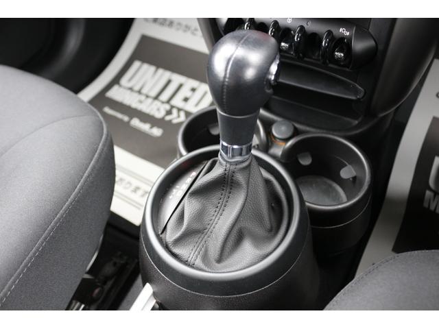 クーパーD クロスオーバー ブラックデザインパッケージ RMP18インチアルミ H&Rダウンサス HIDヘッドライト オートライト 純正17インチアルミホイール ETC車載器 AUXポート プッシュスタート MTモード(28枚目)
