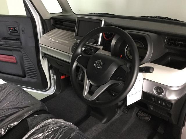 ハイブリッドX スズキセーフティサポート・届出済み未使用車・ブラック2トーンルーフ・両側電動スライドドア・スリムサーキュレーター・パーソナルテーブル・スマートキー・プッシュスタート・オートエアコン・ロールサンシェード(10枚目)