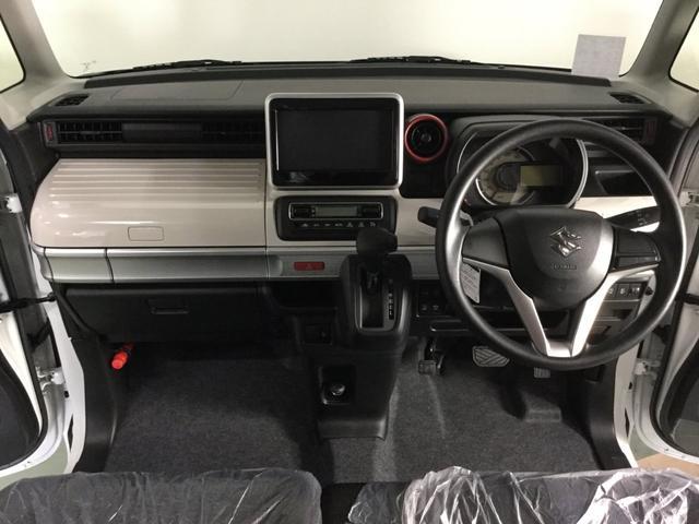 ハイブリッドX スズキセーフティサポート・届出済み未使用車・ブラック2トーンルーフ・両側電動スライドドア・スリムサーキュレーター・パーソナルテーブル・スマートキー・プッシュスタート・オートエアコン・ロールサンシェード(11枚目)