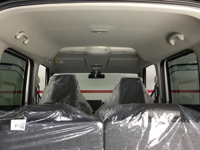 ハイブリッドX スズキセーフティサポート・届出済み未使用車・ブラック2トーンルーフ・両側電動スライドドア・スリムサーキュレーター・パーソナルテーブル・スマートキー・プッシュスタート・オートエアコン・ロールサンシェード(17枚目)