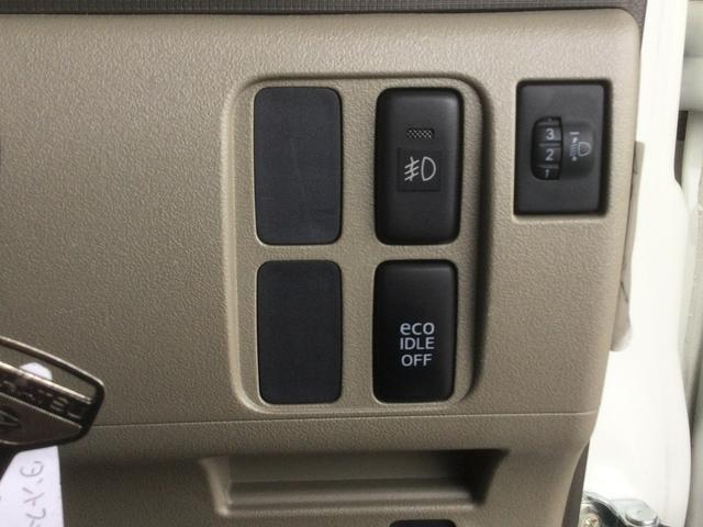 スローパーリアシート付仕様車 ナビ ワンセグTV CDチューナー キーレス エアコン フォグランプ 14インチアルミホイール(15枚目)