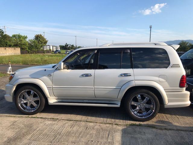 「トヨタ」「ランドクルーザー100」「SUV・クロカン」「岐阜県」の中古車4
