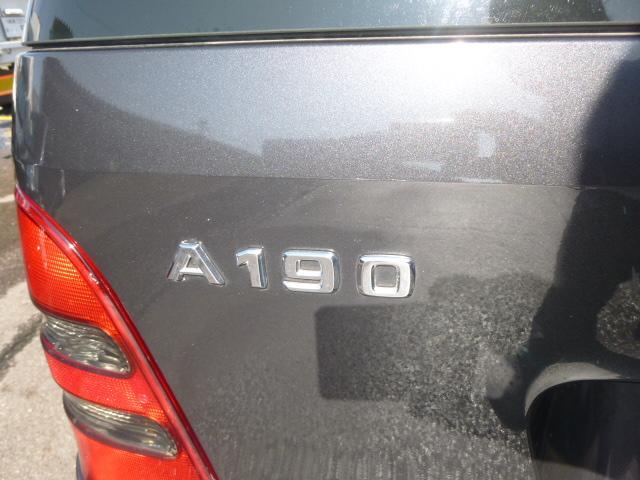 A190 アバンギャルド ワンオーナー禁煙車 ハーフレザー(30枚目)