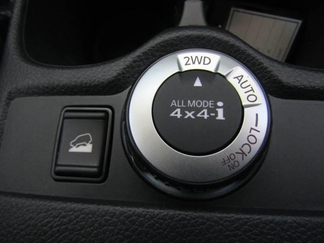 4WDを装備。力強い4WDは悪路の走行も可能です