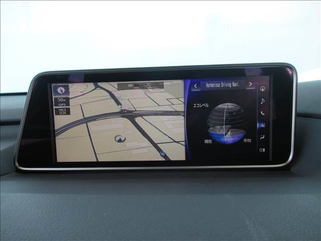 RX450h Fスポーツ メーカー12.3型SDナビ フルセグTV ブルーレイ 全方位カメラ 本革エアシート 4WD レーダークルーズ プリクラッシュ レーンキープ シートヒータ 電動ゲート 3眼LEDヘッドライト(3枚目)