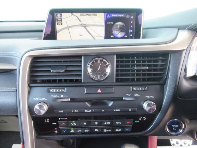 RX450h Fスポーツ メーカー12.3型SDナビ フルセグTV ブルーレイ 全方位カメラ 本革エアシート 4WD レーダークルーズ プリクラッシュ レーンキープ シートヒータ 電動ゲート 3眼LEDヘッドライト(44枚目)