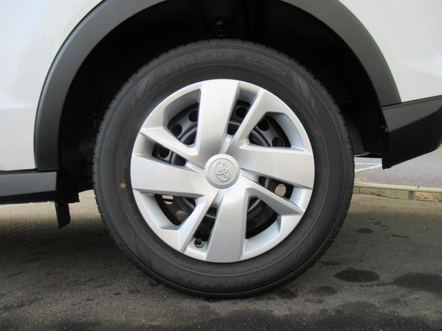 X S トヨタセーフティセンス 新車未登録 クリアランスソナー アイドリングストップ 純正16inスチールホイール スマートキー プッシュスタート(51枚目)
